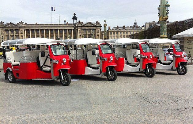 Team building insolite à Paris : le rallye en tuk-tuk